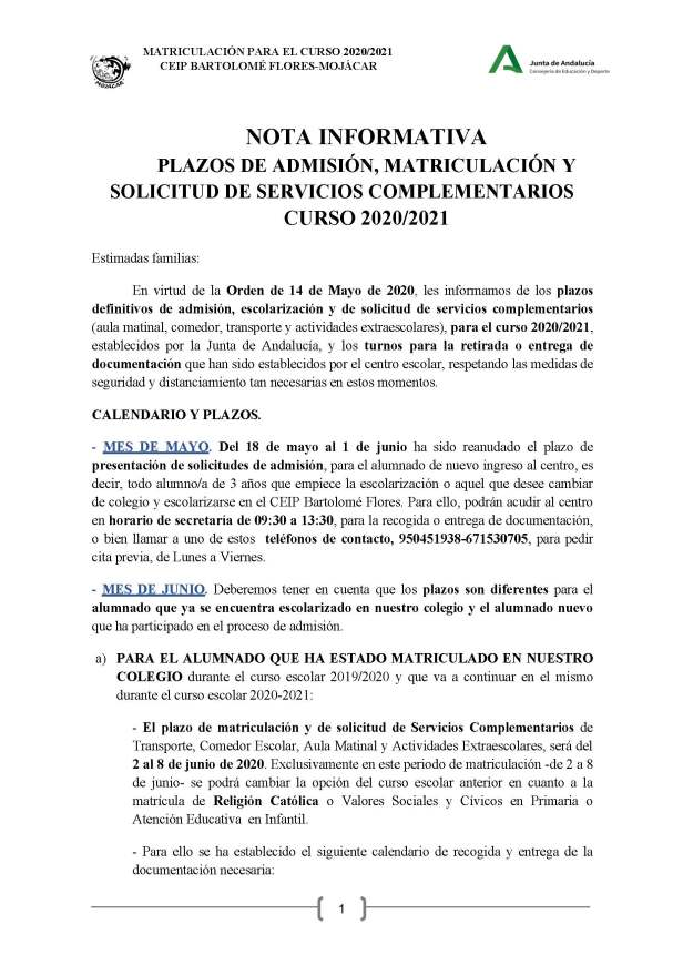 NOTA INFORMATIVA MATRICULACIÓN-CEIP.BartoloméFlores_Página_1